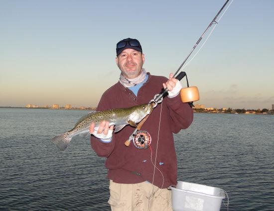 Tampa bay st pete clearwater fly fishing pictures for Captain dave s fishing